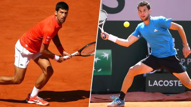 Novak Djokovic's 'Bad Behaviour' During French Open 2019 Semi-Final Defeat Against Dominic Thiem Comes Under Criticism by Fans, Read Tweets