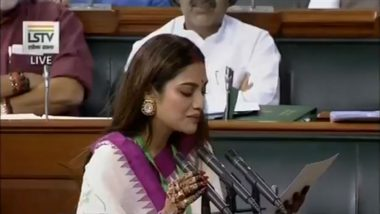 TMC MP Nusrat Jahan Skips Winter Session of Parliament On Medical Grounds