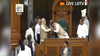BJP MP Om Birla Elected Lok Sabha Speaker Unanimously; PM Narendra Modi Lauds Parliament's Decision