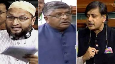 Triple Talaq Bill Tabled in Lok Sabha After 186 MPs Vote in Favour of Introducing It; AIMIM, Congress Oppose