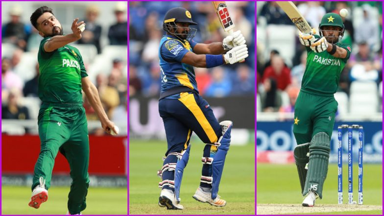 PAK vs SL, ICC Cricket World Cup 2019 Match 11, Key Players: Mohammad Amir, Kusal Perera, Babar Azam and Other Cricketers to Watch Out for in Bristol