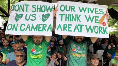 Fans of Pakistan Cricket Team Turn on Decibel Levels During PAK vs SA Match at Lord's, CWC 2019 Twitter Handle Wonders if it's 'Lord's or Lahore', See Pics