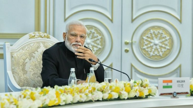 PM Narendra Modi Talks Tough on Terror at SCO Summit 2019, Says 'Countries Supporting Terrorism Must Be Held Accountable'