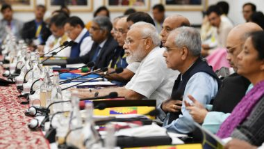 Narendra Modi Outlines His Vision at NITI Aayog Meet, Says 'Goal to Make India $5 Trillion Economy by 2024 Challenging, But Achievable'