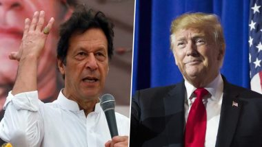 Imran Khan, Pakistan PM to Have First Face-to-Face Talk with US President Donald Trump