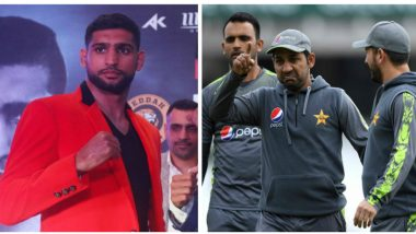'Pakistan Can Win the World Cup If They Fix Matches', Boxer Amir Khan Goofs Up When Asked About Pakistan's Chances at ICC CWC 2019, Watch Video