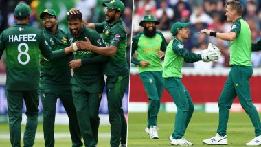 PAK vs SA Head-to-Head Record: Ahead of ICC CWC 2019 Clash, Here Are Match Results of Last 5 Pakistan vs South Africa Encounters!
