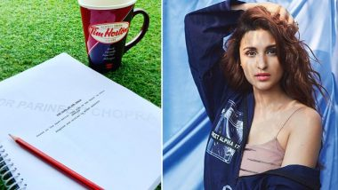 Parineeti Chopra Begins Prep for The Girl On the Train Remake With Her Super Special Coffee Mug - See Pic!