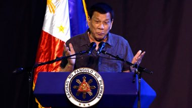 'Go to India or Somewhere, to America': Philippines President Rodrigo Duterte to Those Who Don't Want to Get COVID-19 Vaccine