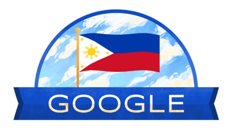 Philippines Independence Day 2019: Google Doodle Commemorates Country's Freedom By Hoisting The National Flag