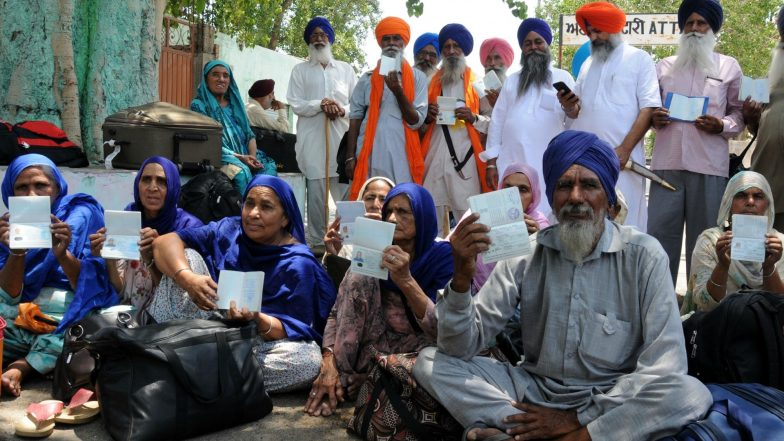 India Unhappy Over Pakistan For Not Giving Visa to Official Sikh Jatha