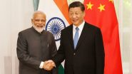 PM Narendra Modi to Meet Chinese President Xi Jinping Tomorrow at Sidelines of BRICS Summit in Brazil
