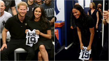 Meghan Markle and Prince Harry Get a Surprise Gift for Archie and Duchess of Sussex's Reaction Is Priceless