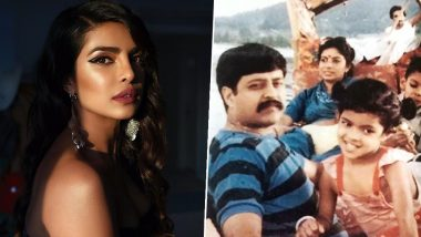Priyanka Chopra is 'Daddy's Lil Girl Forever', Posts an Emotional Note With a Throwback Childhood Picture on Father's Day