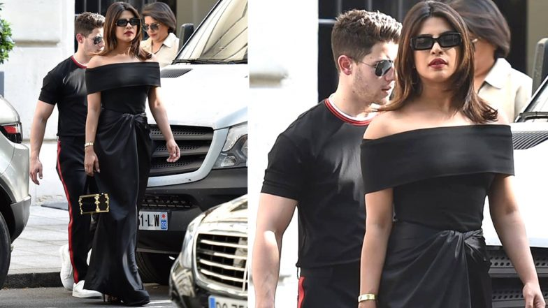 Priyanka Chopra and Nick Jonas' Latest Pics in Black Are the Perfect Combination of Classy and Sexy! (View Pics)