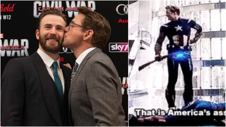 Robert Downey Jr Wishes 'America's Ass' aka Chris Evans With a Hilarious Birthday Post, Leaves Avengers: Endgame Fans in Splits