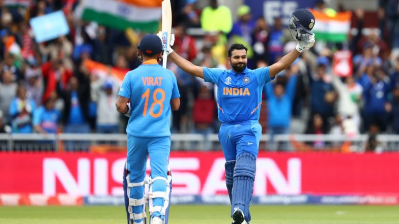 Rohit Sharma Surpasses MS Dhoni to Create this Record During IND vs PAK, CWC 2019 Tie