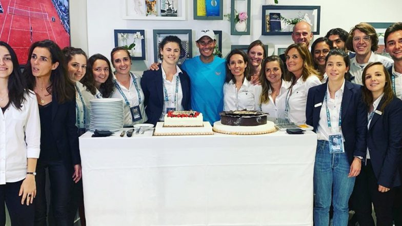 Rafael Nadal Turns 33: Spanish Tennis Ace Thanks Fans for Warm Birthday Wishes and Messages (See Pics)
