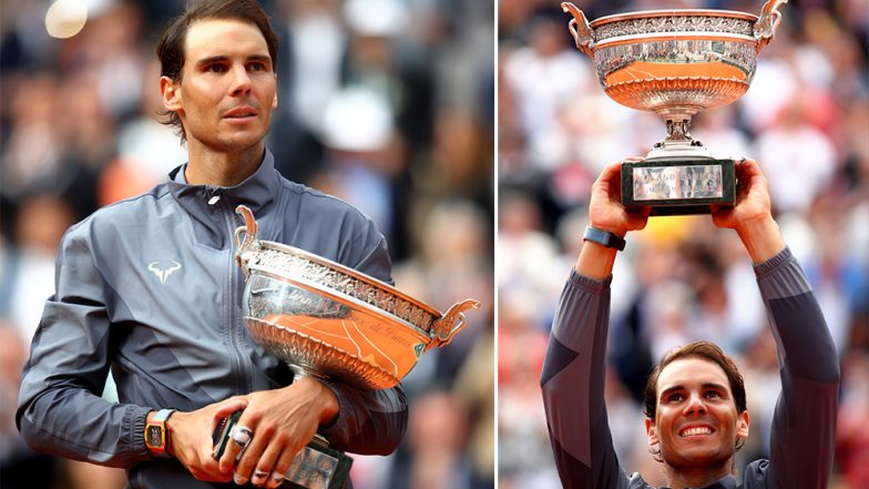 Rafael Nadal Wins 12th French Open Title, Twitter Hails King of Clay As Spaniard Conquers Roland Garros 2019