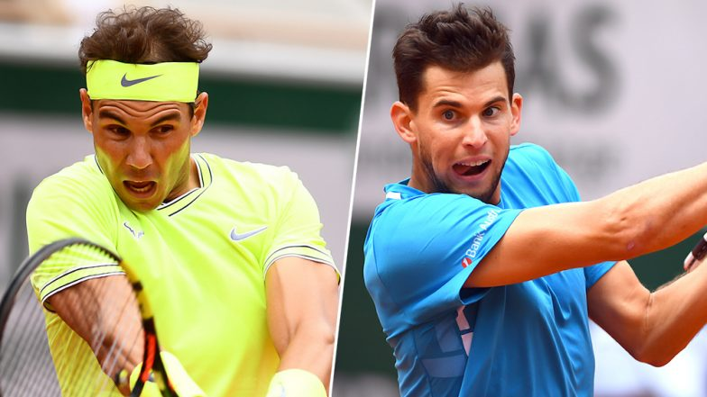 Rafael Nadal vs Dominic Thiem Head to Head Record: Ahead of French Open 2019 Final Clash, Here're Previous 5 Match Results Featuring Roland Garros 2019 Finalists