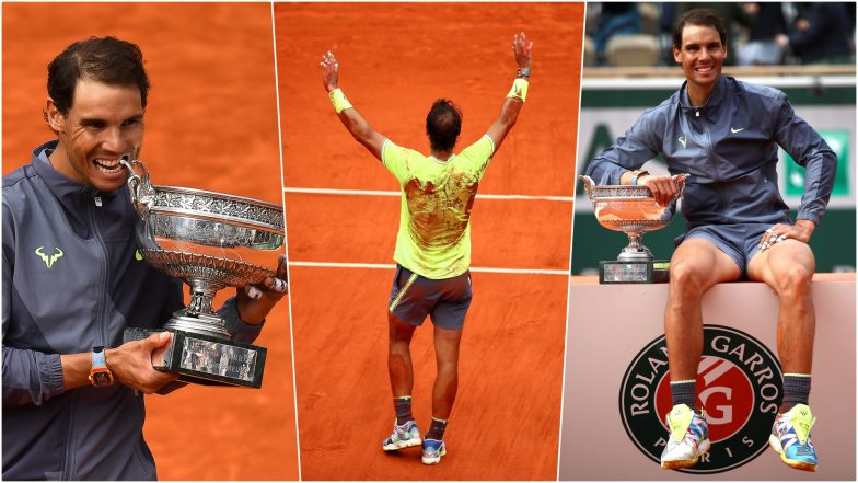 Rafael Nadal Wins 12th French Open and 18th Grand Slam Title! View Pics of 'King of Clay' With French Open 2019 Trophy