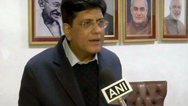 Indian Railways to Donate Rs 151 Crore to PM-CARES Fund to Fight Coronavirus, Says Piyush Goyal