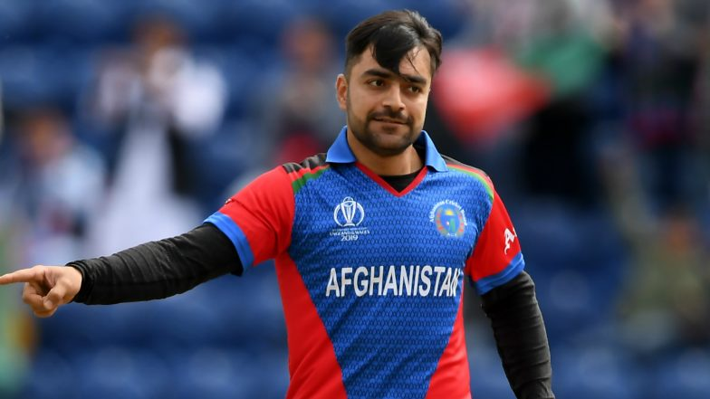 Rashid Khan Ruled Out of Afghanistan vs New Zealand Match in CWC 2019