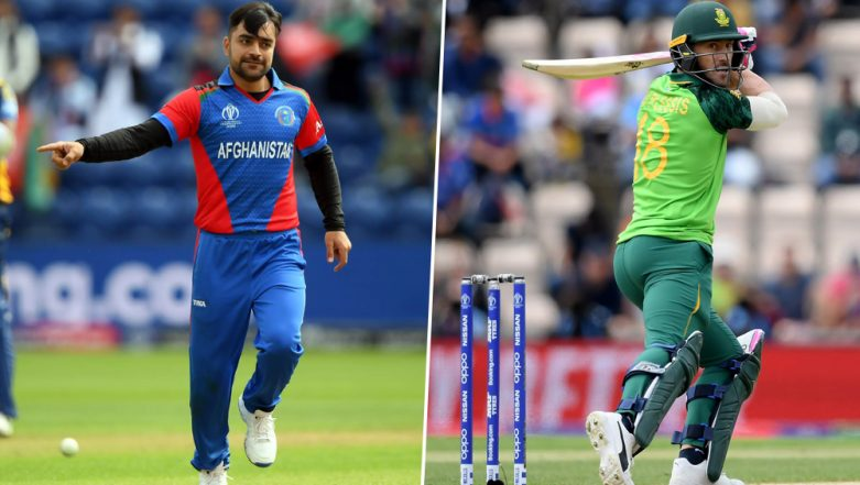 SA vs AFG, ICC Cricket World Cup 2019: Faf du Plessis vs Rashid Khan and Other Exciting Mini Battles to Watch Out for at Sophia Gardens
