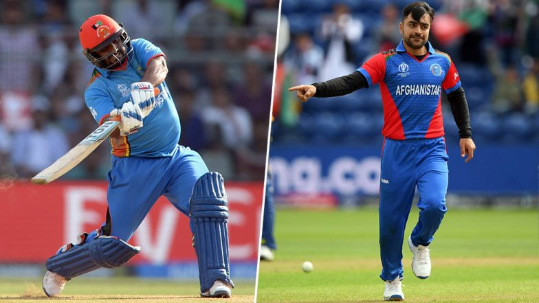 Mohammad Shahzad and Rashid Khan's Dance on 'Aaj Ki Party' Would Make Salman Khan Happy and Proud of Afghanistan Team! Watch CWC 2019 Video