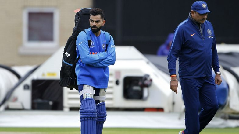 Indian Cricket Team Coach Ravi Shastri and Support Staff to Get 45-Day Extension After ICC Cricket World Cup 2019