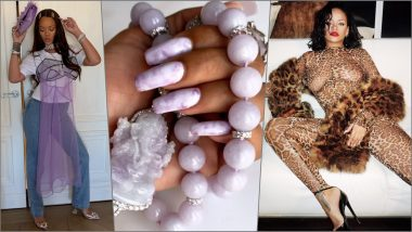 Rihanna's Lavender-Jade Marbled Nails Steal the Show: 6 Times Riri Proved She's a Fearless Fashionista
