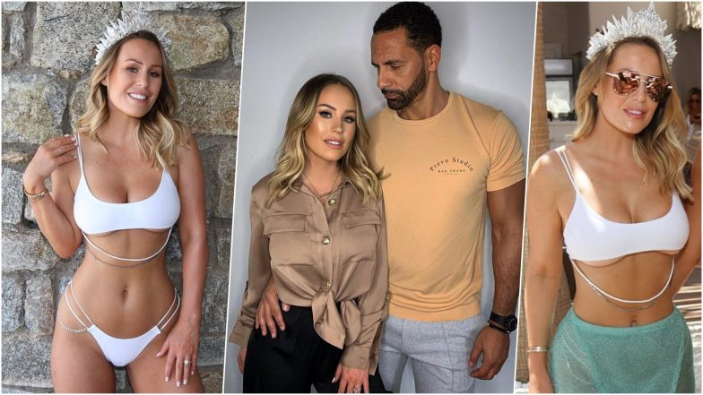 Rio Ferdinand's Fiancée Kate Wright Wears Bridal-Inspired Bikini for Bachelorette Party: See Hot Pics of Former Manchester United Footballer's Wife-to-Be!