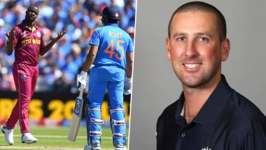 Rohit Sharma's Dismissal Controversy in IND vs WI: Angry Fans Edit Third Umpire Michael Gough's Wikipedia Page