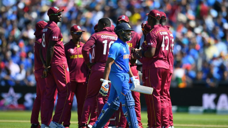 Rohit Sharma Dismissal: Fans Troll Third Umpire Michael Gough After the Indian Opener Was Controversially Given Out Using DRS During IND vs WI CWC 2019 Match