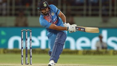 Rohit Sharma Overtakes Virat Kohli as Leading Run-Scorer in T20Is During India vs West Indies 3rd T20I in Mumbai