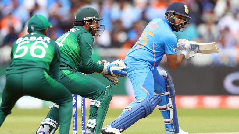Rohit Sharma Hits Century Against Pakistan; Hitman's Second Hundred For Team India in ICC Cricket World Cup 2019