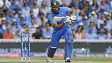 IND vs NZ, ICC CWC 2019 Semi-Final: Rohit Sharma 27 Runs Away From Eclipsing Sachin Tendulkar's Record of Most Runs in Single World Cup Edition