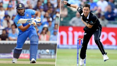 IND vs NZ, ICC Cricket World Cup 2019: Rohit Sharma vs Trent Boult and Other Exciting Mini Battles to Watch Out for at Trent Bridge
