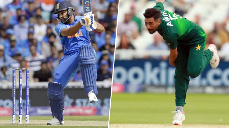 IND vs PAK, ICC Cricket World Cup 2019: Rohit Sharma vs Mohammad Amir and Other Exciting Mini Battles to Watch Out for at The Old Trafford