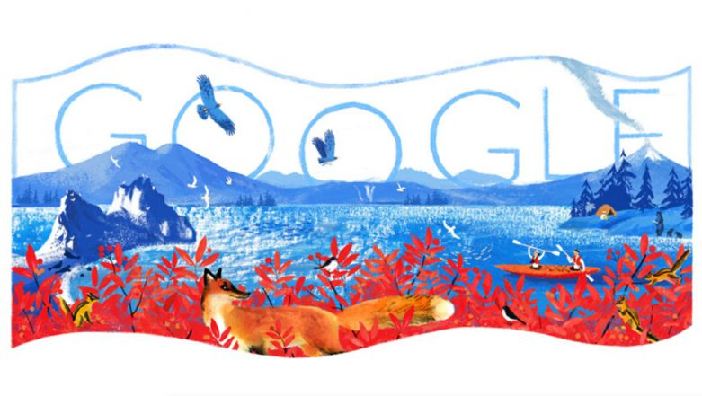 Russia Day 2019 Google Doodle: Internet Giant Observes Birth of the Independent Russian Federation by Depicting Country's Natural Beauty
