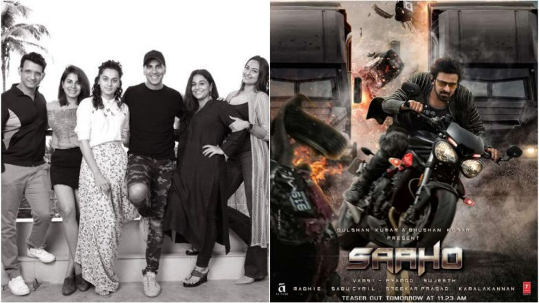 Akshay Kumar Starrer Mission Mangal WILL Clash With Prabhas' Saaho At the Box Office Over Independence Day 2019