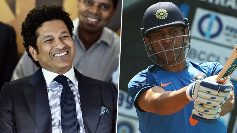 Sachin Tendulkar Trolled by MS Dhoni Fans After Master Blaster Criticises Former Captain's Slow Batting Approach During ICC CWC 2019, IND vs AFG Match