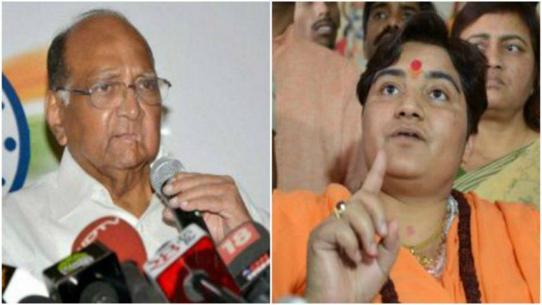 Sharad Pawar Lambastes BJP Over Sadhvi Pragya Thakur's Entry in Lok Sabha: 'Giving Tickets to Bomb Blast Accused an Attack on Democracy'