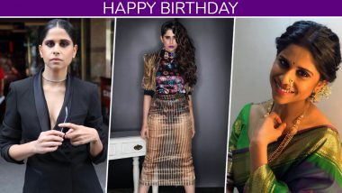Sai Tamhankar Birthday: 15 Pictures Of Marathi Actress Which Prove She Knows Fashion Like the Back Of Her Hand