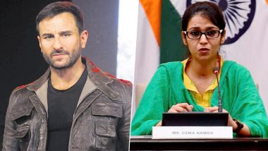 Saif Ali Khan to Play a Deputy High Commissioner in a Film Based on Uzma Ahmed?