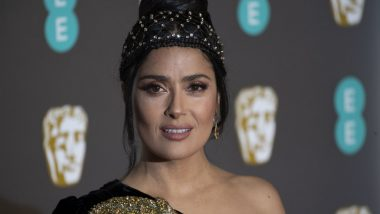Salma Hayek's Kissing Tips, Her Experiences and More! Boys and Girls Listening? (Watch Video)