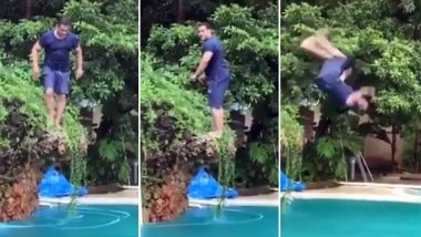 Salman Khan's Backflip in the Water Looks Great But we Only Wish if it was 'Slow Motion Mein' (Watch Video)