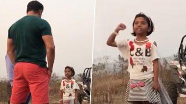 Salman Khan Shares an Adorable Video of a Young Girl Describing her Love for 'Bharat'