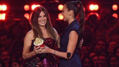 MTV Awards 2019: Sandra Bullock Dedicates Her Trophy For Bird Box To Her Two Children In This Heartfelt Speech!