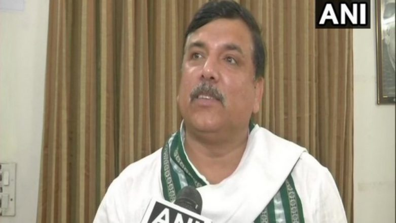 AAP MP Sanjay Singh Gives Zero Hour Notice in Rajya Sabha Over Spurt Crime in Delhi